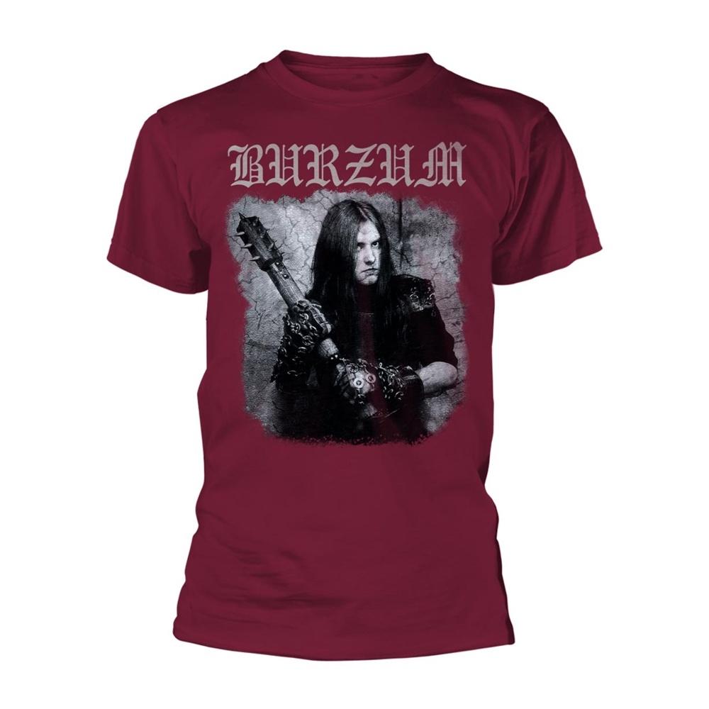 Burzum Anthology 2018  (Maroon) T Shirt