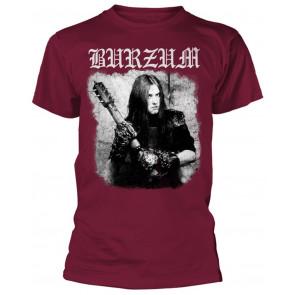 Burzum Anthology (Maroon) T-Shirt