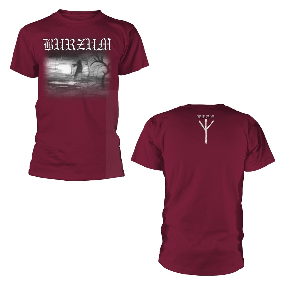 Burzum Aske 2013 (Maroon) T Shirt