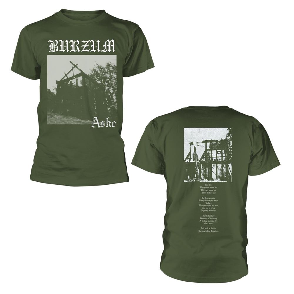 Burzum Aske (Green) T Shirt