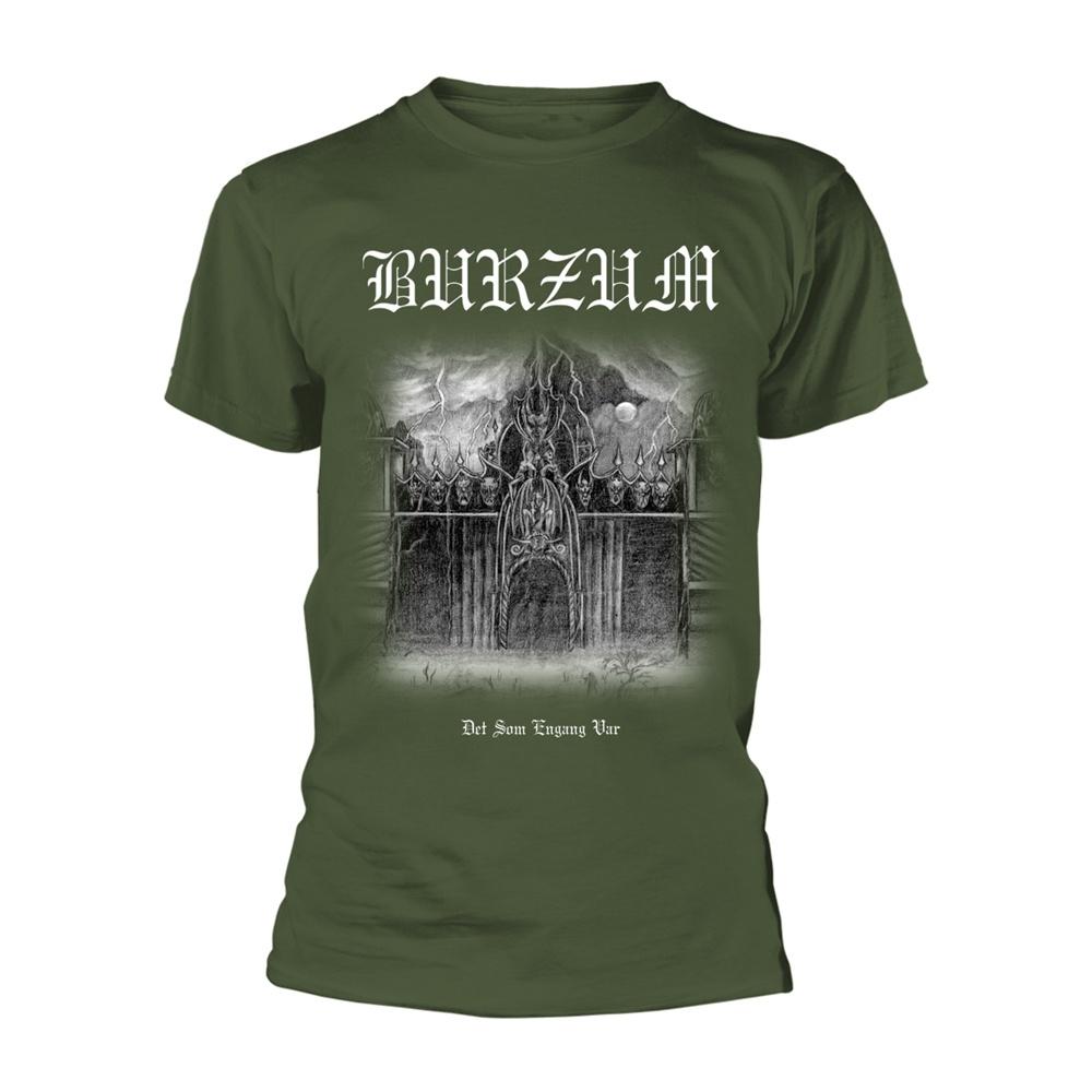 Burzum Det Som Engang Var (Green) T Shirt