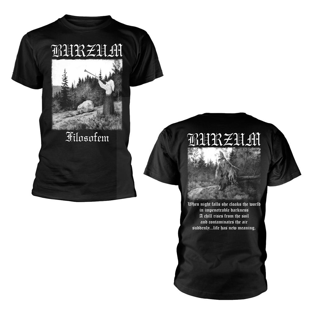 Burzum Filosofem 2018 (Black) T Shirt