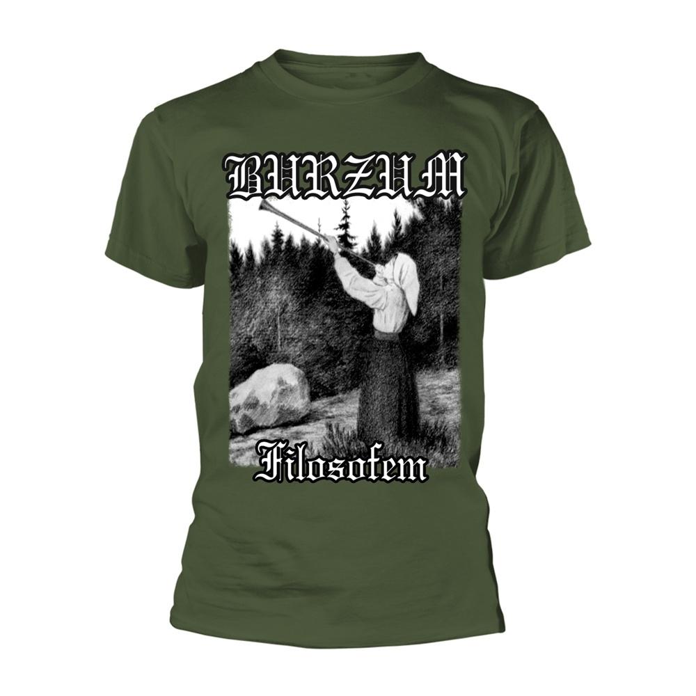 Burzum Filosofem (Green) T Shirt