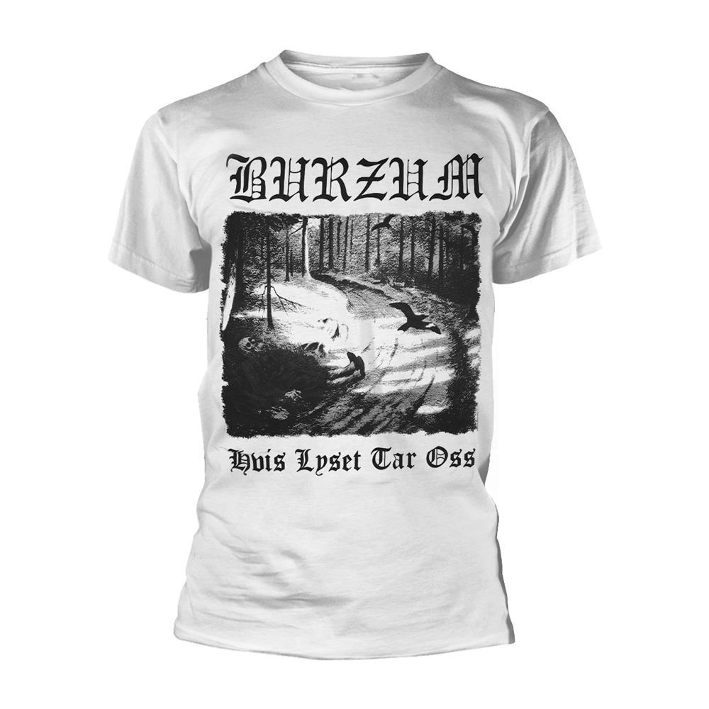 Burzum Hvis Lyset Tar Oss (White) T Shirt