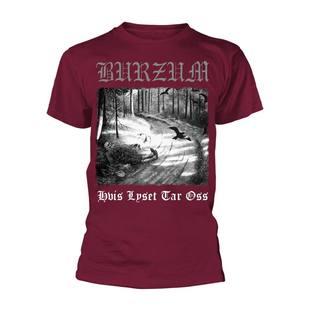 Burzum Hvis Lyset Tar Oss (maroon) T-shirt
