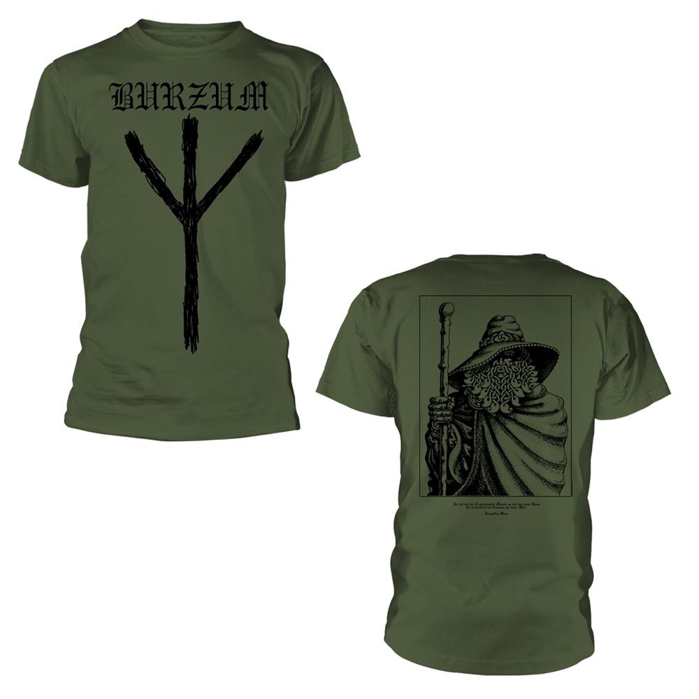 Burzum Rune (Green) T Shirt
