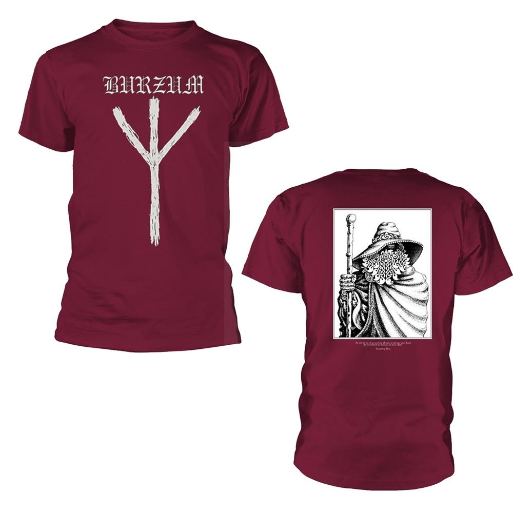 Burzum Rune (Maroon) T Shirt