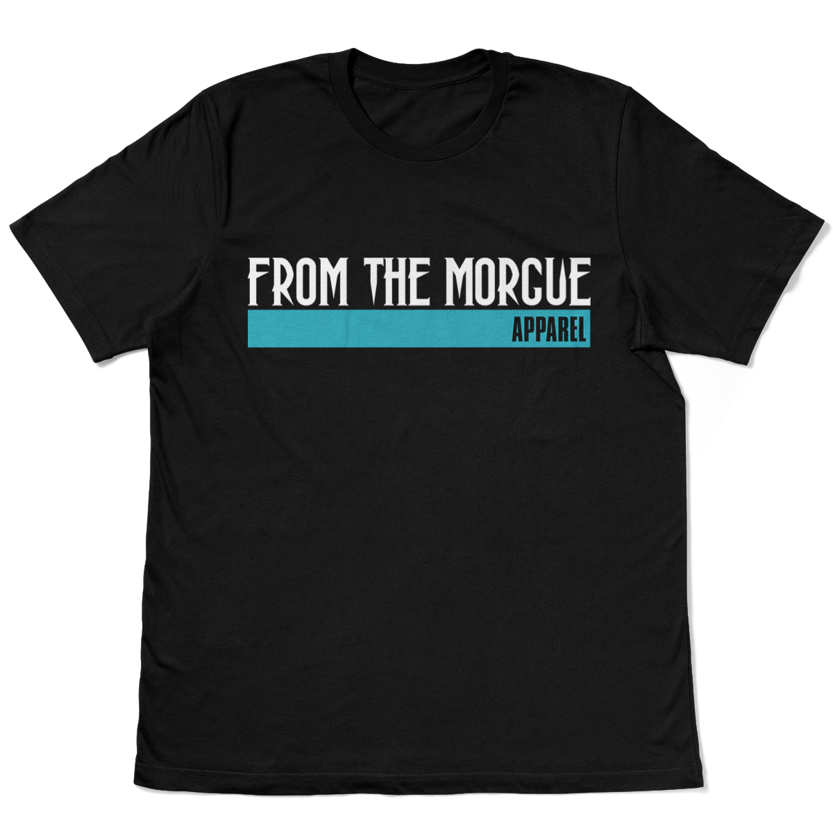 From-THe-Morgue-Alt-Logo-Tee